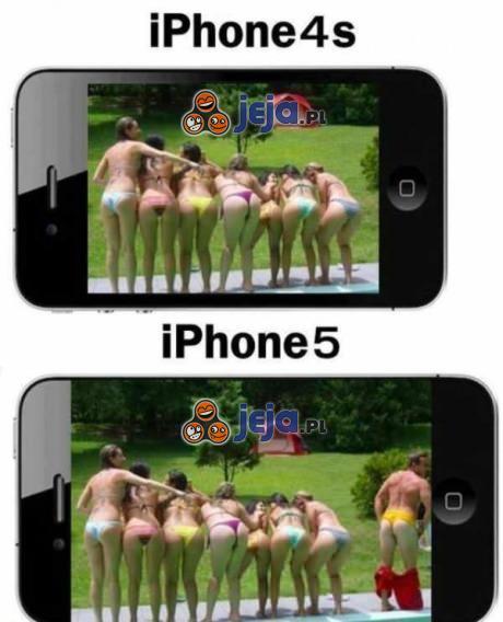 Różnica między iPhonem 4S a iPhomem 5