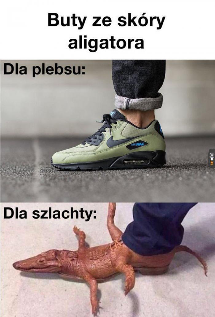 Buty ze skóry