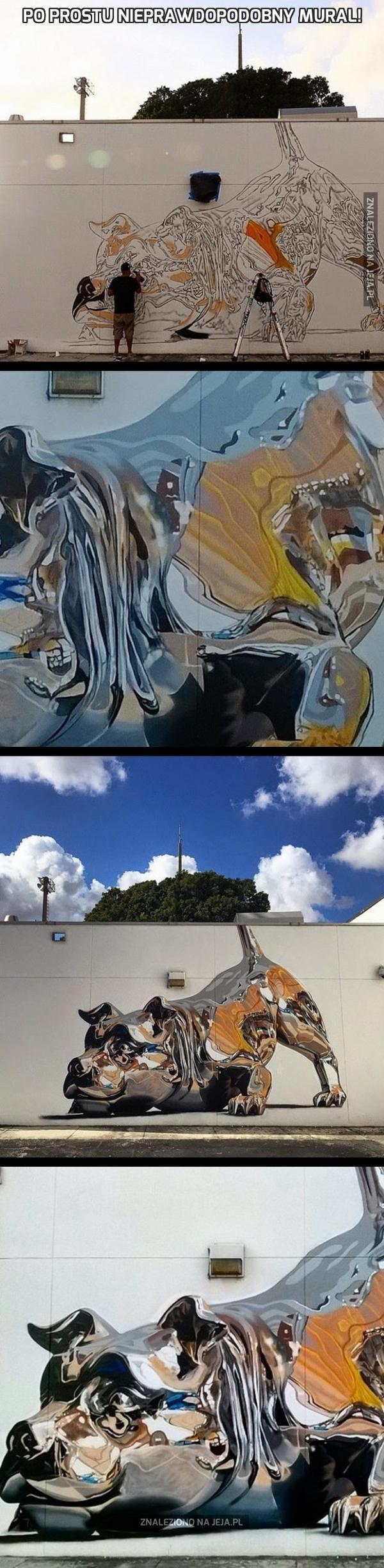 Po prostu nieprawdopodobny mural!
