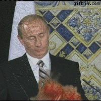 Balonowe zwierzątka Putina