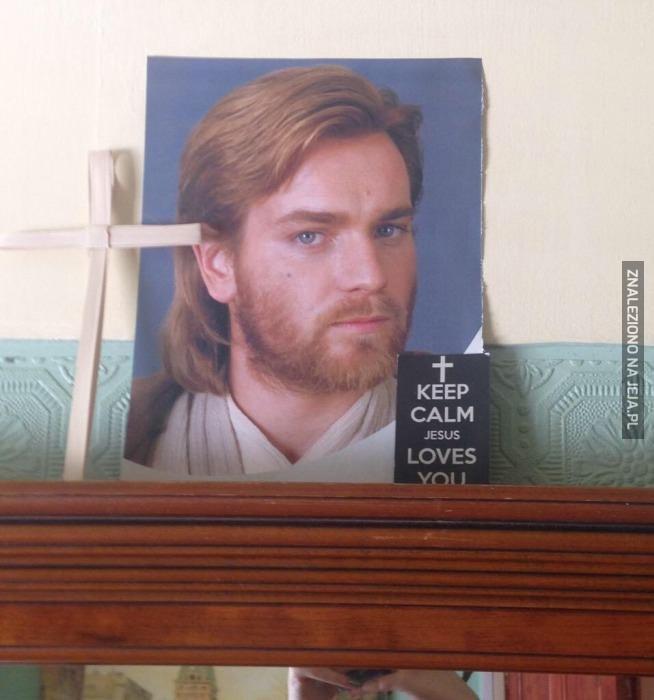 Babciu, ale to nie jest Jezus...