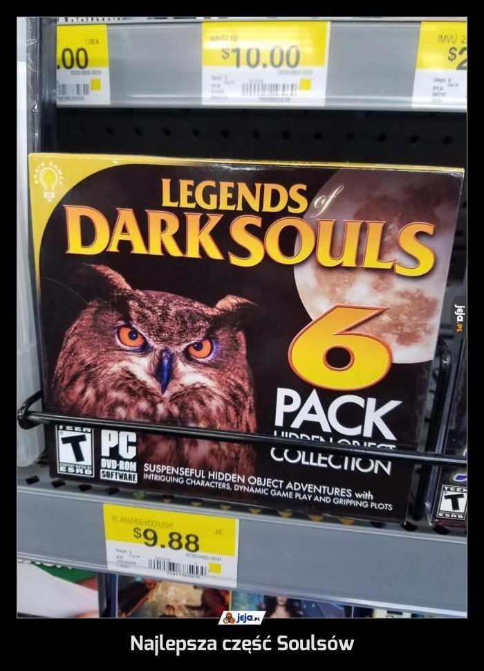 Najlepsza część Soulsów