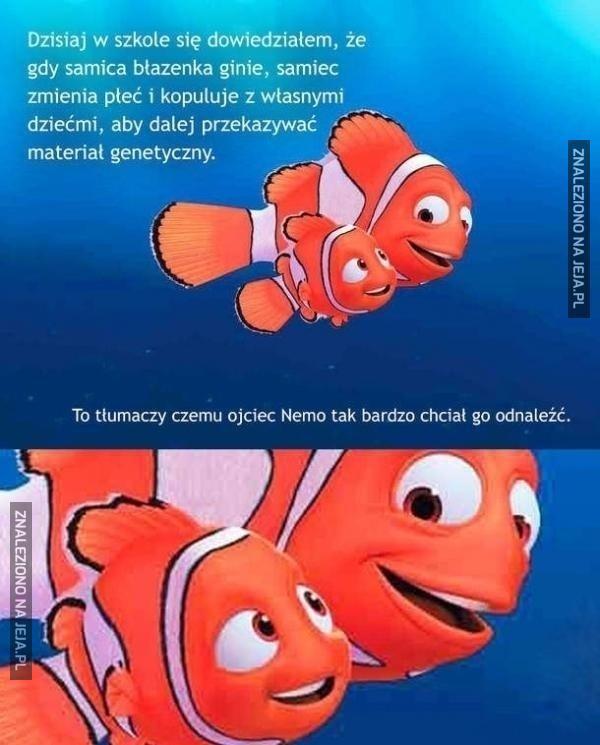Prawdziwy powód zniknięcia Nemo