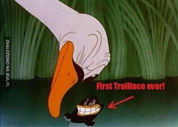 Pierwszy troll?