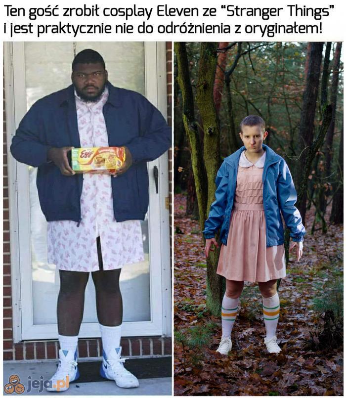 Nie widać różnicy!