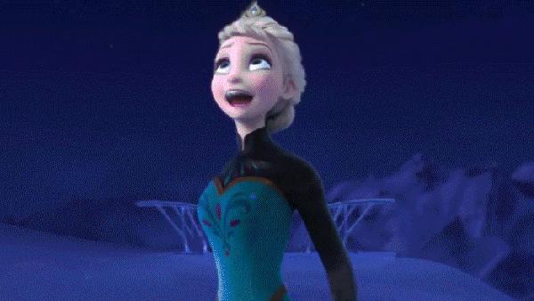 Elsa, ty jesteś naprawdę nieprzewidywalna...