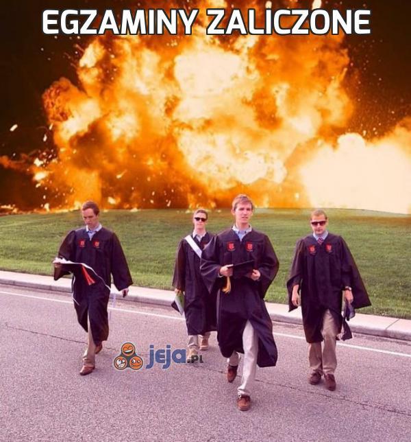 Egzaminy zaliczone