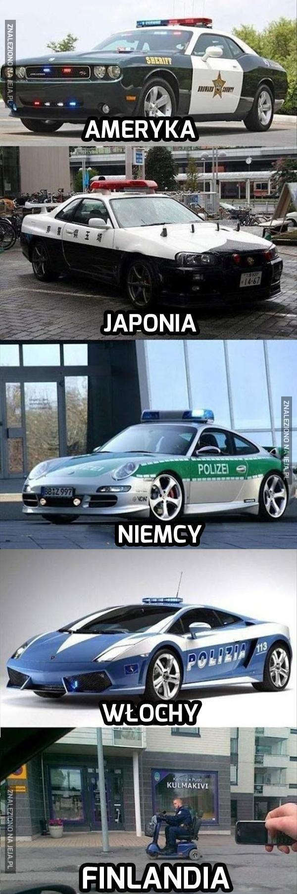 """Policyjne """"fury"""""""