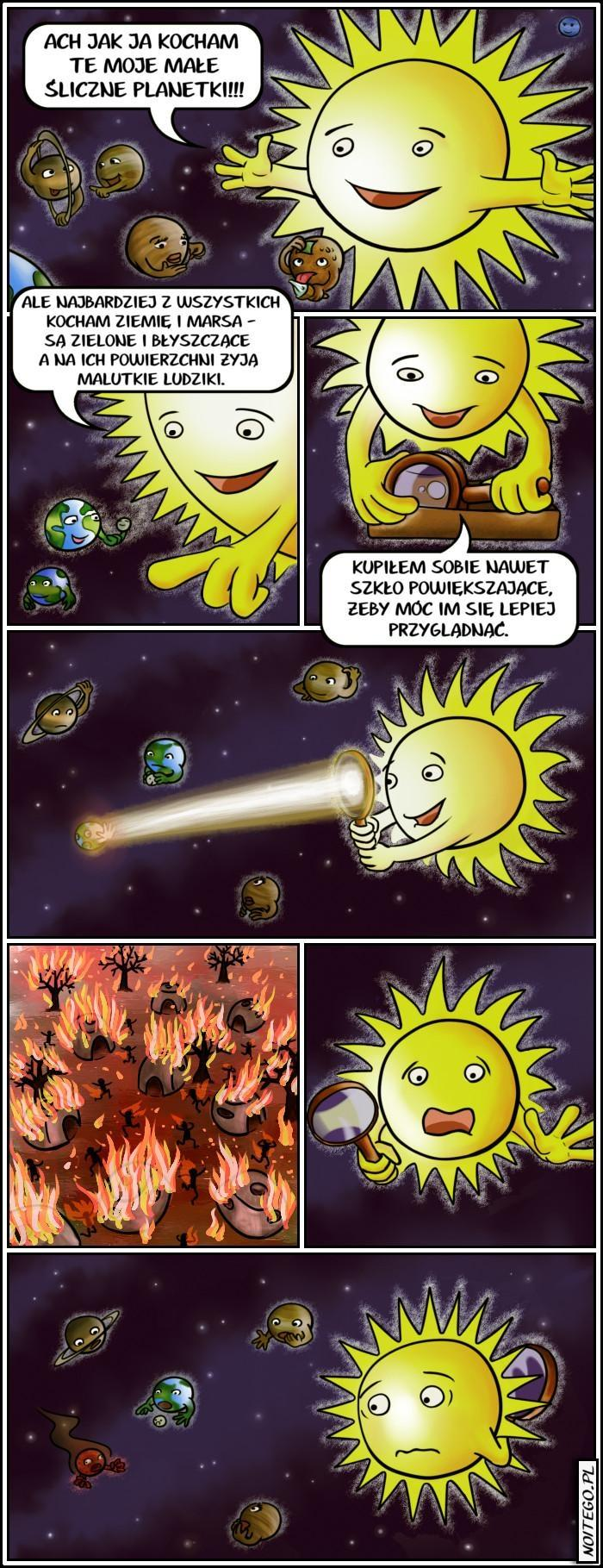 Historia Marsa pod lupą