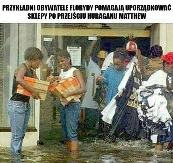 Obywatele Florydy tacy pomocni