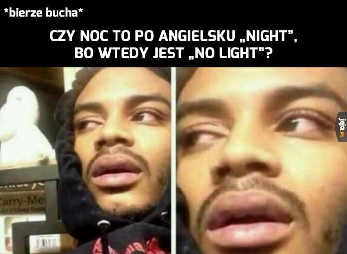 Nie ma światła, jest noc