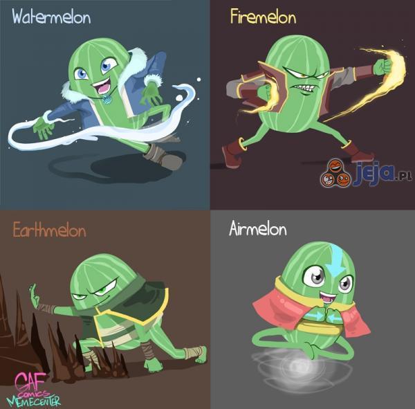 Tylko Avatarmelon potrafi zawładnąć wszystkimi mocami