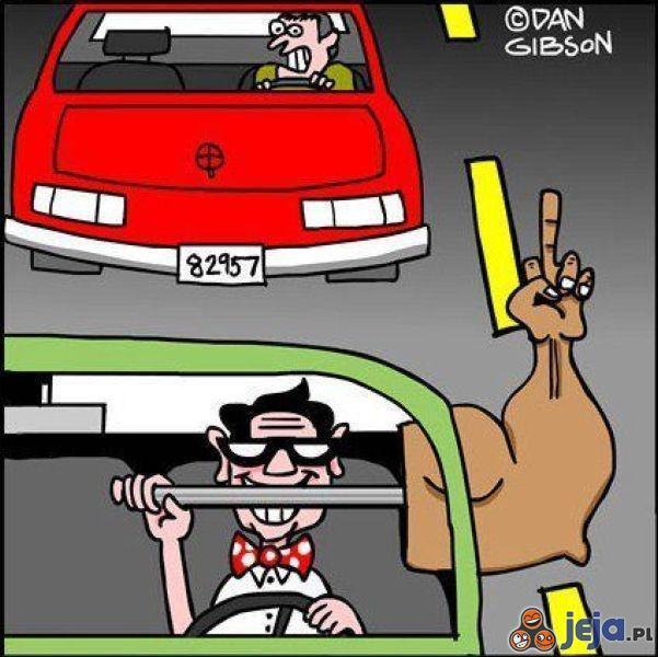 Uprzejmość kierowców