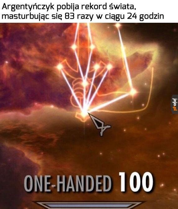 Zaiste, wielki wojownik