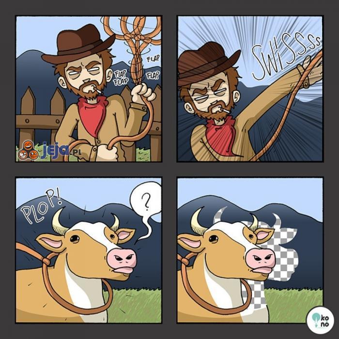 Grafik kowboj