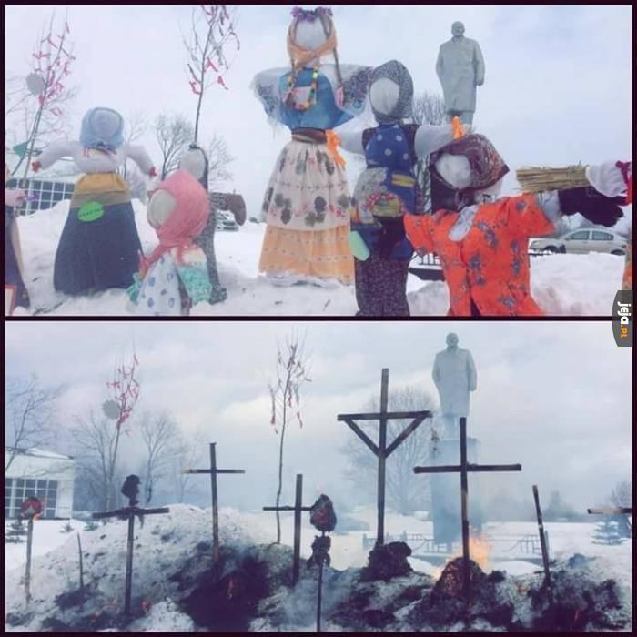 Pożegnanie zimy w Rosji