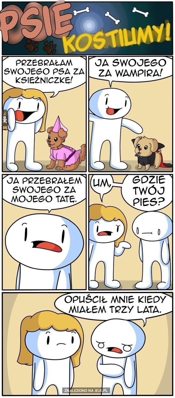 Psie kostiumy