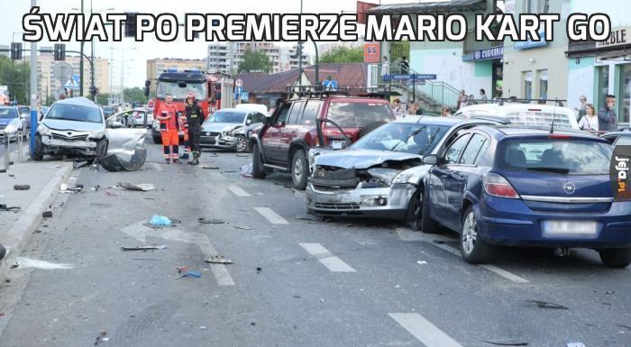Świat po premierze Mario Kart GO