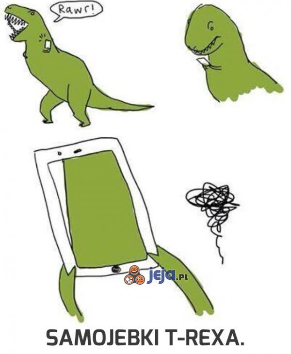 T-Rex nie ma łatwo