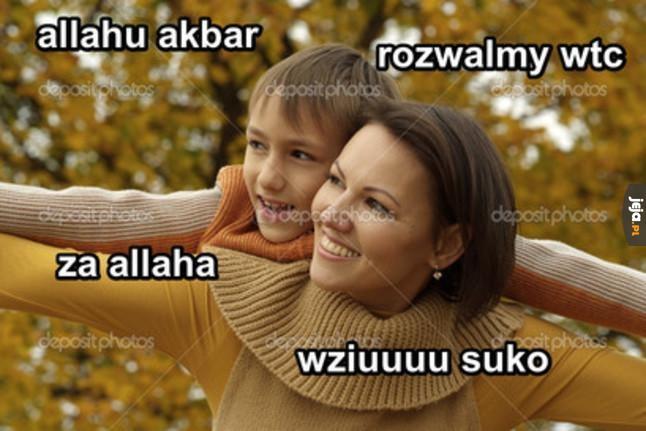 Zabawa z mamą