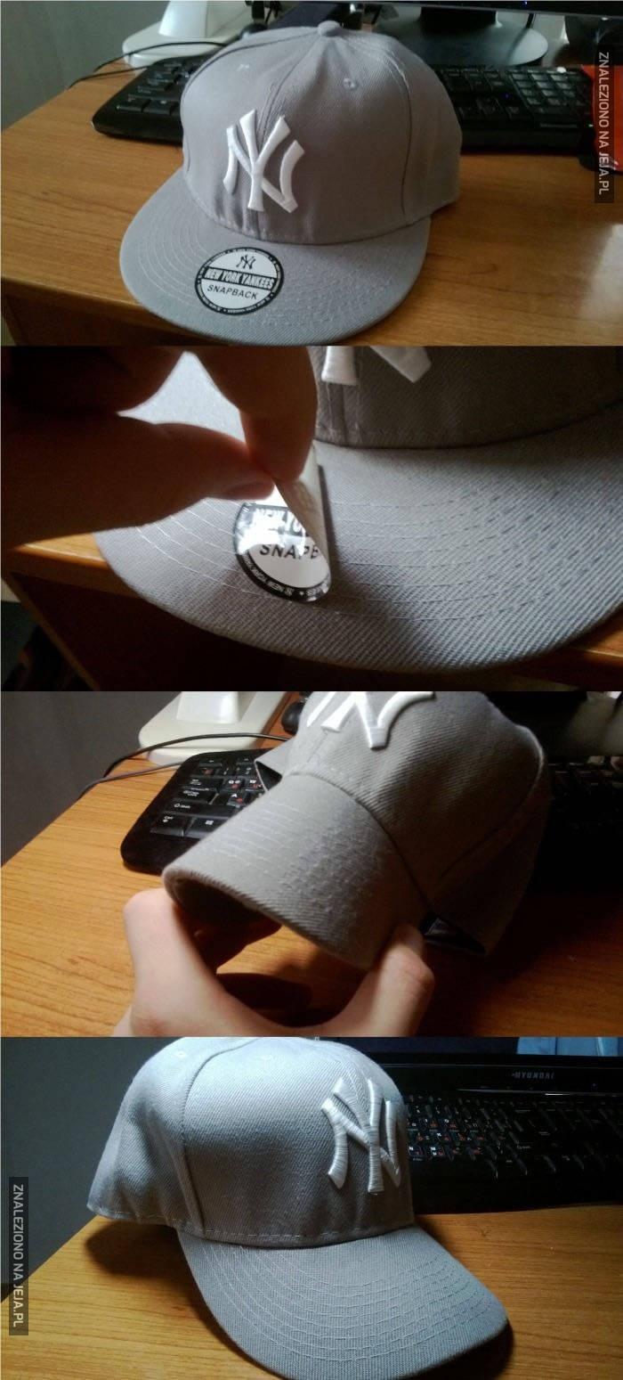 Jak zrobić normalną czapkę z daszkiem