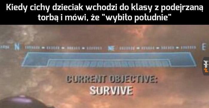 Jak długo przetrwasz?