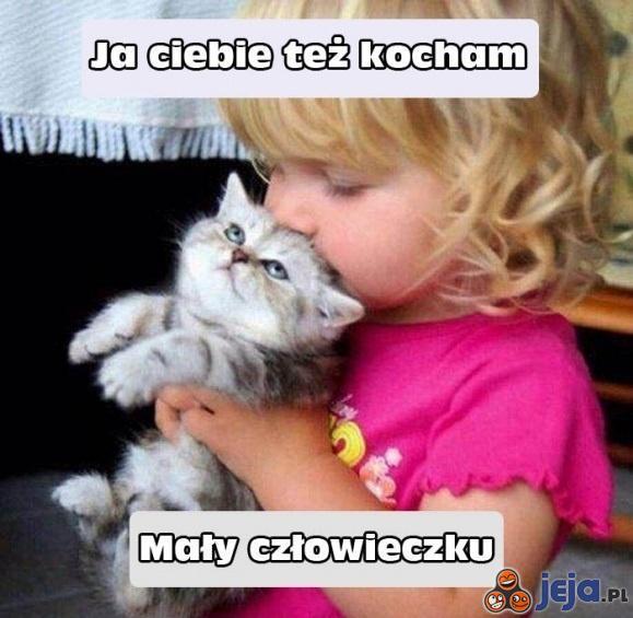 Ja ciebie też kocham