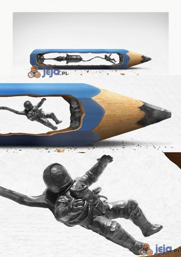 Rzeźbienie w ołówku