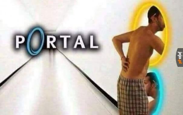 Ach, ten portal...