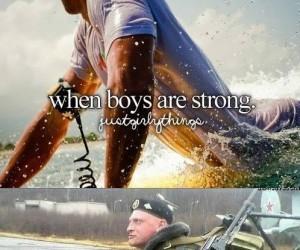 Kiedy chłopcy są silni