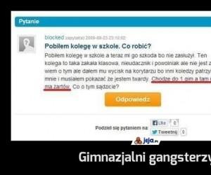 Gimnazjalni gangsterzy