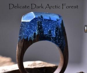 Niesamowite, ręcznie robione pierścienie