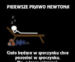 Newton na pewno chciał to powiedzieć