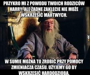 A Harry łyknął, że się nie da