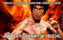 Bruce Lee rzucił granatem i zabił 30 osób