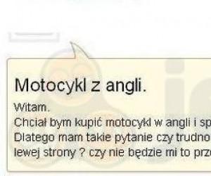 Angielski motocykl