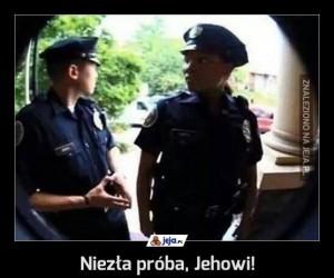 Niezła próba, Jehowi!