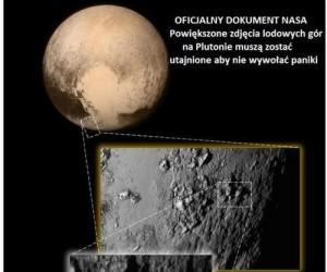 Odkryto życie na Plutonie
