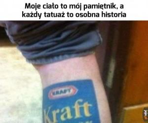 Chciałbym poznać historię tego tatuażu