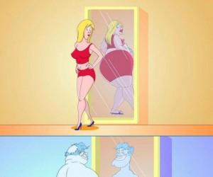 Jak widzimy siebie w lustrze