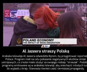 Al Jazeera straszy Polską