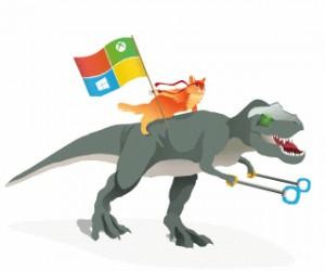 Microsoft wygrał gifa internetu