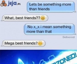 Mega best... friendzone!