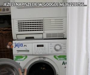 Jeżeli napiszecie w Google 4636228756...