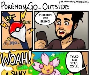 Pokemon GO i wychodzenie...