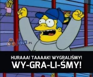 Zwycięstwo! Hurrra!