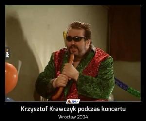 Krzysztof Krawczyk podczas koncertu