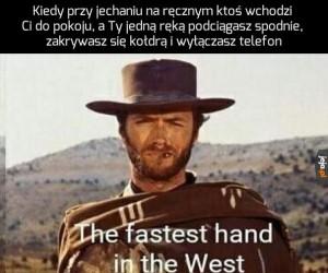 Najszybsza ręka na Dzikim Zachodzie