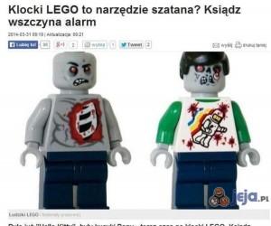 Klocki Lego - narzędzie szatana