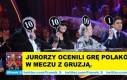 Jurorzy ocenili grę Polaków w meczu z Gruzją